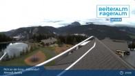 "Archived image Webcam Mountain hut village ""Almwelt Austria"" 19:00"