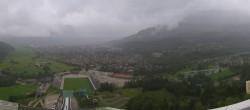 Archived image Webcam Garmisch-Partenkirchen - Great Olympic Hill of the ski stadium 02:00