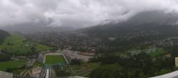 Archived image Webcam Garmisch-Partenkirchen - Great Olympic Hill of the ski stadium 04:00