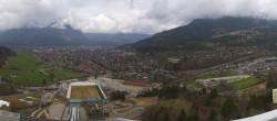 Archiv Foto Webcam Olympiaschanze in Garmisch-Partenkirchen 06:00