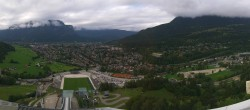 Archived image Webcam Garmisch-Partenkirchen - Great Olympic Hill of the ski stadium 10:00