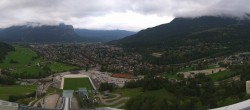 Archived image Webcam Garmisch-Partenkirchen - Great Olympic Hill of the ski stadium 12:00