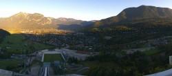 Archived image Webcam Garmisch-Partenkirchen - Great Olympic Hill of the ski stadium 07:00