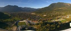 Archived image Webcam Garmisch-Partenkirchen - Great Olympic Hill of the ski stadium 15:00