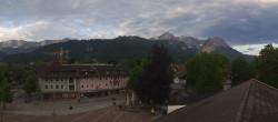 Archiv Foto Webcam Kongresshaus Garmisch-Partenkirchen 22:00