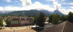 Archiv Foto Webcam Kongresshaus Garmisch-Partenkirchen 08:00