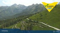 Archiv Foto Webcam Schladming - Bergstation Planaibahn 11:00