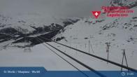 Archiv Foto Webcam Corvatsch Mittelstation Murtel 05:00