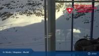 Archiv Foto Webcam Corvatsch Mittelstation Murtel 11:00