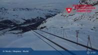 Archiv Foto Webcam Corvatsch Mittelstation Murtel 13:00