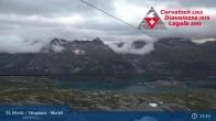 Archived image Webcam Corvatsch middle station Murtel 21:00