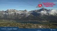 Archived image Webcam Corvatsch middle station Murtel 01:00