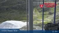 Archived image Webcam Corvatsch middle station Murtel 05:00