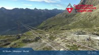 Archived image Webcam Corvatsch middle station Murtel 13:00