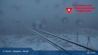 Archiv Foto Webcam Corvatsch Mittelstation Murtel 21:00
