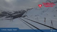 Archived image Webcam Corvatsch middle station Murtel 03:00