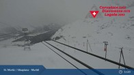 Archived image Webcam Corvatsch middle station Murtel 07:00