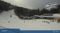 Archiv Foto Webcam Spindlermühle - Piste Turistická und Sessellift Svaty Petr 13:00