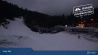 Archiv Foto Webcam Spindlermühle - Piste Turistická und Sessellift Svaty Petr 01:00