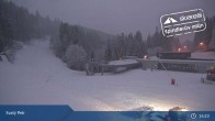 Archiv Foto Webcam Spindlermühle - Piste Turistická und Sessellift Svaty Petr 00:00