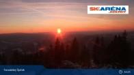 Archived image Webcam The top of Tanvaldský Špičák 13:00