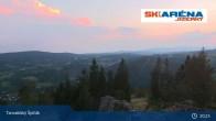 Archived image Webcam The top of Tanvaldský Špičák 19:00