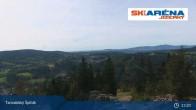Archiv Foto Webcam Blick vom Gipfel des Tanvaldský Špičák ins Tal 07:00