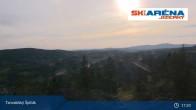 Archiv Foto Webcam Blick vom Gipfel des Tanvaldský Špičák ins Tal 11:00