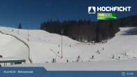 Archiv Foto Webcam Hochficht: Kids Park und Skiarena 10:00
