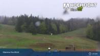 Archiv Foto Webcam Hochficht: Kids Park und Skiarena 01:00