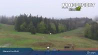 Archiv Foto Webcam Hochficht: Kids Park und Skiarena 03:00