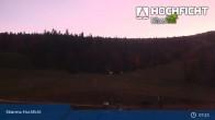 Archived image Webcam Ski Resort Hochficht - Kids' park 01:00