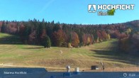 Archived image Webcam Ski Resort Hochficht - Kids' park 05:00