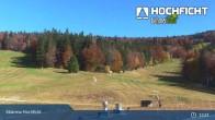 Archived image Webcam Ski Resort Hochficht - Kids' park 07:00