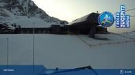 Archiv Foto Webcam Grubig II Gondel im Skigebiet Lermoos Grubigstein 21:00