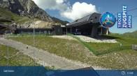 Archiv Foto Webcam Grubig II Gondel im Skigebiet Lermoos Grubigstein 10:00