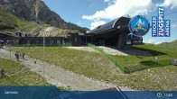 Archiv Foto Webcam Grubig II Gondel im Skigebiet Lermoos Grubigstein 12:00