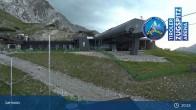 Archiv Foto Webcam Grubig II Gondel im Skigebiet Lermoos Grubigstein 19:00