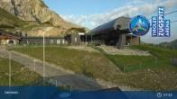 Archiv Foto Webcam Grubig II Gondel im Skigebiet Lermoos Grubigstein 01:00