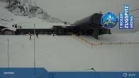 Archiv Foto Webcam Grubig II Gondel im Skigebiet Lermoos Grubigstein 07:00