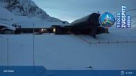 Archiv Foto Webcam Grubig II Gondel im Skigebiet Lermoos Grubigstein 13:00