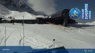 Archiv Foto Webcam Grubig II Gondel im Skigebiet Lermoos Grubigstein 05:00
