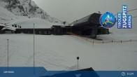 Archiv Foto Webcam Grubig II Gondel im Skigebiet Lermoos Grubigstein 09:00
