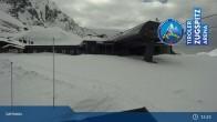 Archived image Webcam Lermoos Grubigstein Ski Resort: Grubig II Gondola 09:00