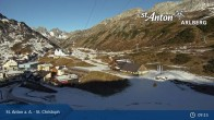 Archiv Foto Webcam St. Christoph (Arlberg) 08:00
