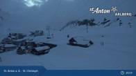 Archiv Foto Webcam St. Christoph (Arlberg) 19:00