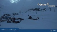 Archiv Foto Webcam St. Christoph (Arlberg) 21:00