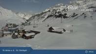 Archiv Foto Webcam St. Christoph (Arlberg) 03:00
