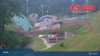 Archived image Webcam View from Stanice lanovky ČD, Liberec - Horní Hanychov 23:00