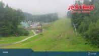 Archived image Webcam View from Stanice lanovky ČD, Liberec - Horní Hanychov 01:00